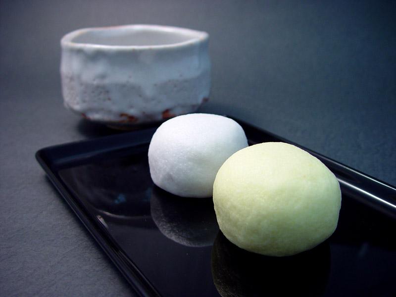 仏事用 黄白饅頭